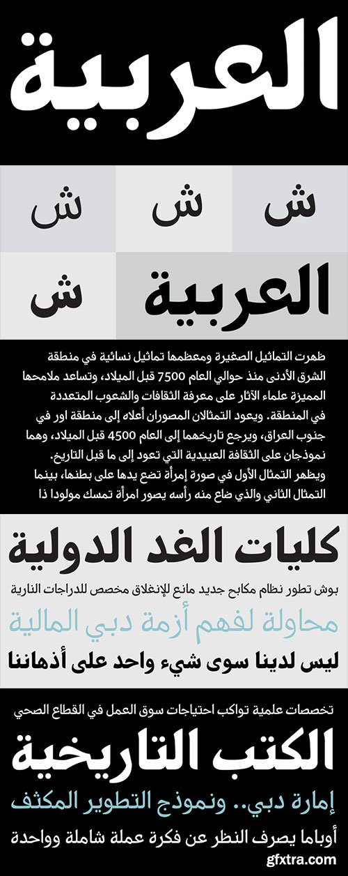 دانلود فونت نیورک – PF Nuyork Arabic Font