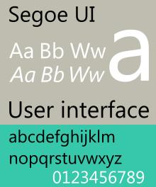 دانلود مجموعه کامل فونت Segoe UI فونت اختصاصی مایکروسافت