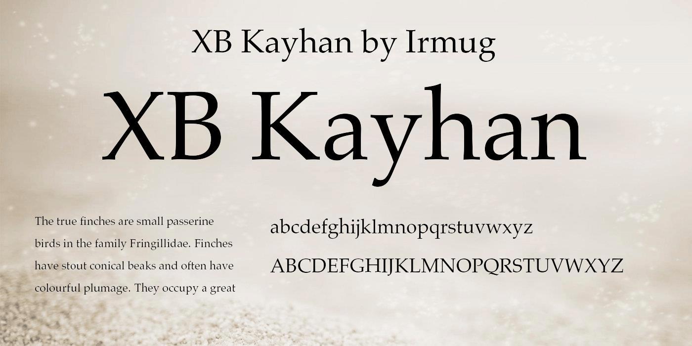 فونت ایکس بی کیهان – XB Kayhan Font